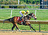 Crystal Rosario winning at Delaware Park on 10/12/15