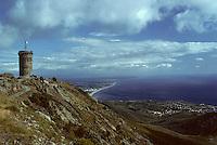 Europe/France/Languedoc-Rousillon/66/Pyrénées Orientales / Env de Collioure: Tour et Balcon de Madeloc et panorama sur la Cote Vermeille