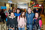 National Learning Network students pictured at the IT Tralee Open Day on Friday last were l-r: Antonia Gleeson, Damien O'Shea, Kerry Marsh, CJ Miller and Chloe Flaherty.