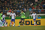 Jeonjuk Hyundai Motors vs Yokohama F.Marinos during the 2014 AFC Champions League Group G match on February 26, 2014 at the Jeonju World Cup Stadium in Jeonju, Korea Republic. Photo by World Sport Group