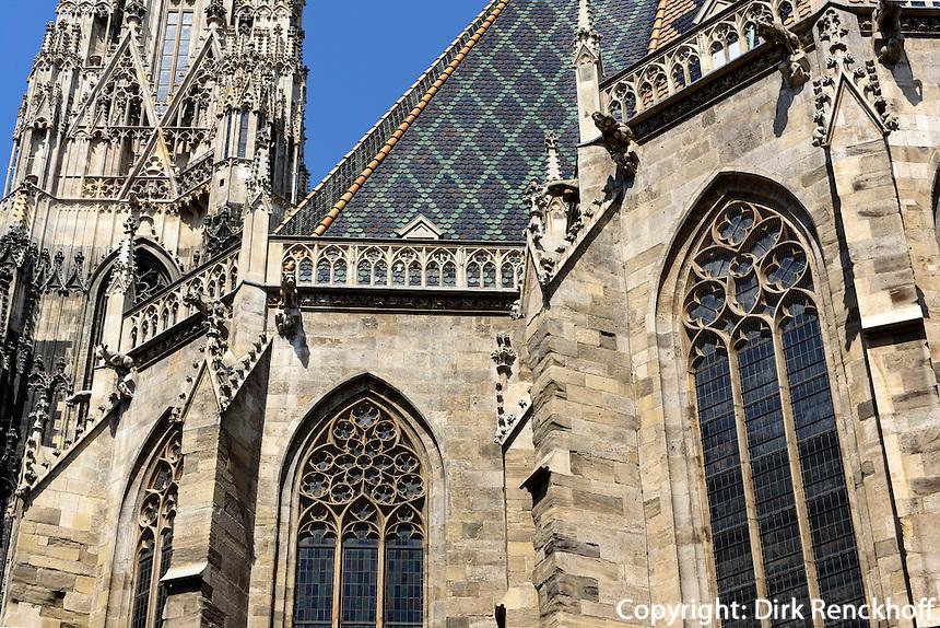Gotischer Stephansdom in Wien, &Ouml;sterreich, UNESCO-Weltkulturerbe<br /> Gothic Stephansdom, Vienna, Austria, world heritage