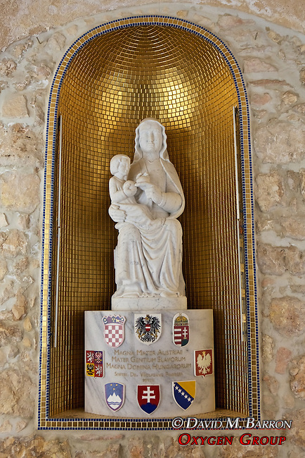 Statue, Austrian Hospice of the Holy Family