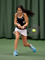 March 15, 2015, Netherlands, Rotterdam, TC Victoria, NOJK, Lian Tran (NED)<br /> Photo: Tennisimages/Henk Koster