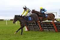 Winner of The Hookey Ham Patrick Handicap Hurdle Scaramanga ridden by Bryan Carver and trained by Paul Nicholls  during Horse Racing at Wincanton Racecourse on 5th December 2019