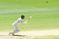 29th December 2019; Melbourne Cricket Ground, Melbourne, Victoria, Australia; International Test Cricket, Australia versus New Zealand, Test 2, Day 4; Tom Blundell of New Zealand pulls the ball towards the boundary - Editorial Use