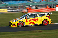 Round 9 of the 2018 British Touring Car Championship.  #20 James Cole. Team Shredded Wheat Racing with Gallagher. Ford Focus RS.