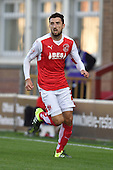 11/08/2015 Capital One Cup, First Round Fleetwood Town v Hartlepool United<br /> Conor McLaughlin