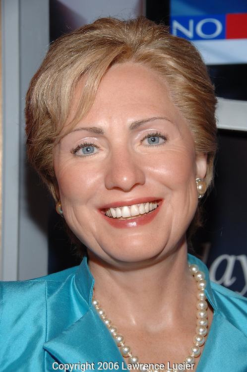 Haillry Clinton's wax figure