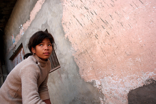 This is Sanghita. She's only 12 years old, but she has been working in this house for three years already. Her jobs, at which she slaves from 6am to 9pm every day, include sweeping, washing clothes and collecting manure. Every year in January, her mother comes to collect her annual wages from her masters. It turns out that 365 days of Sanghita's life are worth US$60, or 16 cents a day.<br />