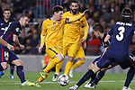 05.04.2016 Barcelona. Uefa Champions League Quarter-finals 1st leg. Game between FC Barcelona agaisnt Atletico de Madrid at Camp Nou. Picture show Leo Messi