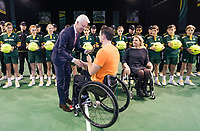 Rotterdam, The Netherlands, 14 Februari 2019, ABNAMRO World Tennis Tournament, Ahoy, Wheelchair, Final, Joachim Gerard (BEL),<br /> Photo: www.tennisimages.com/Henk Koster