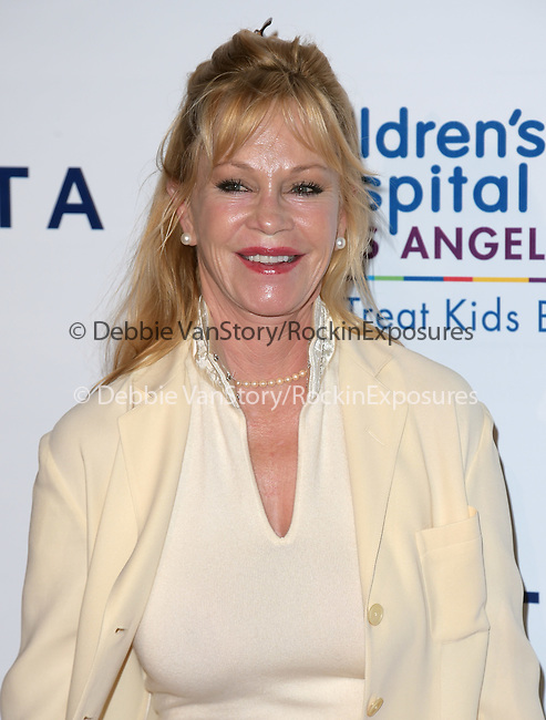 Melanie Griffith attends The Children's Hospital Los Angeles Gala: Noche de Ninos held at The Event Deck at Nokia Live in Los Angeles, California on October 11,2014                                                                               © 2014 Hollywood Press Agency