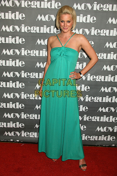 ALICE EVANS.15th Annual Faith & Values Movieguide Awards at the Beverly Wilshire Hotel, Beverly Hills, California, USA..February 20th, 2007.full length green dress hand on hip.CAP/ADM/BP.©Byron Purvis/AdMedia/Capital Pictures