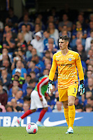 Kepa Arrizabalaga of Chelsea seen during the Premier League match between Chelsea and Sheff United at Stamford Bridge, London, England on 31 August 2019. Photo by Carlton Myrie / PRiME Media Images.