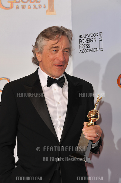 Robert De Niro at the 68th Annual Golden Globe Awards at the Beverly Hilton Hotel..January 16, 2011  Beverly Hills, CA.Picture: Paul Smith / Featureflash