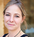 Alice Roberts , BBC Television Presenter, author and writer at The Blenheim Palace Literary Festival in Woodstock, Oxfordshire CREDIT Geraint Lewis