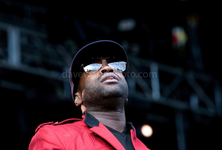 The Roots is an American hip-hop band from Philadelphia, Pennsylvania. Electric Picnic 2008, Stradbally, Laois, Ireland. .