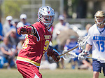 Corona Del Mar, CA 04/02/16 - Luke Talman (Torrey Pines #20) in action during the non-conference game between the Nike/LM High School Boys' National Western Region #4 Torrey Pines (#4) and #5 Corona Del Mar.  Torrey Pines defeated Corona Del Mar 9-8 in overtime.