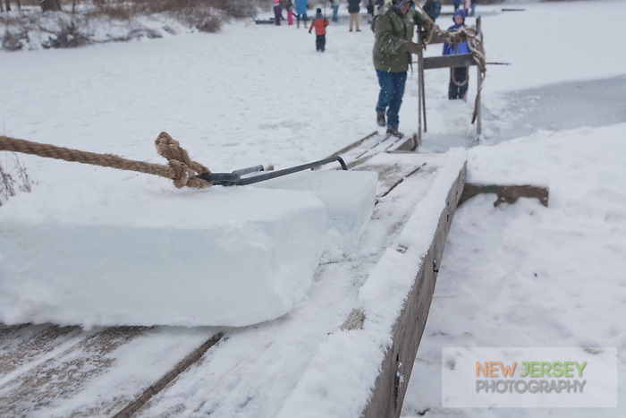 Ice Harvest, Howell Living History Farm, New Jersey