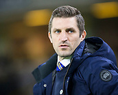 5th February 2019, Molineux Stadium, Wolverhampton, England; FA Cup football, 4th round replay, Wolverhampton Wanderers versus Shrewsbury Town; Shrewsbury Town Manager Samuel Ricketts on pitch side before the kick off