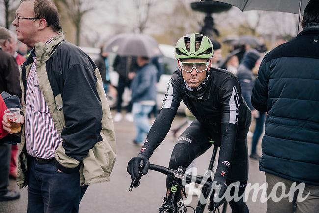 Julien Vermote's (BEL/DimensonData) post-race face<br /> <br /> 73rd Dwars Door Vlaanderen 2018 (1.UWT)<br /> Roeselare - Waregem (BEL): 180km