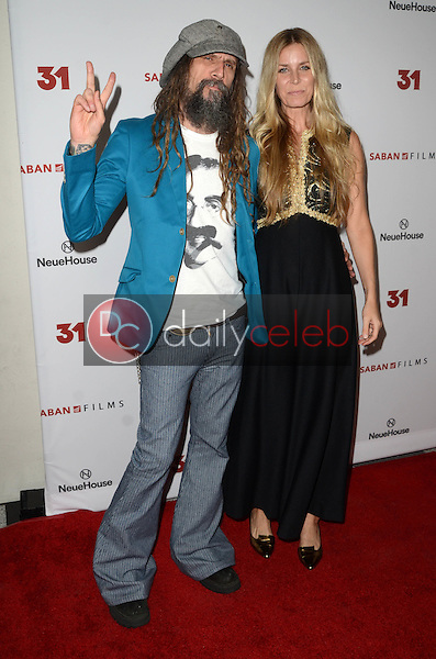Rob Zombie, Sheri Moon Zombie<br /> at a Special Screening of &ldquo;31,&quot; NeueHouse, Hollywood, CA 10-20-16<br /> David Edwards/DailyCeleb.com 818-249-4998