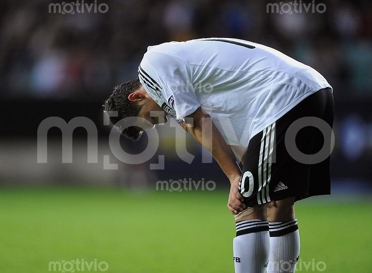 Fussball  International U 21 Europameisterschaft 2009 Spanien - Deutschland Enttaeuschung GER, Mesut Oezil nach vergebener Torchance