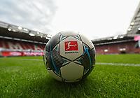 24th May 2020, Opel Arena, Mainz, Rhineland-Palatinate, Germany; Bundesliga football; Mainz 05 versus RB Leipzig; Official Bundesliga Ball awaiting the game start