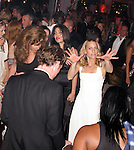 **EXCLUSIVE**.Robin Wright Penn dancing with Michael Fassbender..Inglourious Basterds Post Premiere Party..Baoli Beach..2009 Cannes Film Festival..Cannes, France..Wednesday, May 20, 2009..Photo By Celebrityvibe.com.To license this image please call (212) 410 5354; or Email: celebrityvibe@gmail.com ; .website: www.celebrityvibe.com..