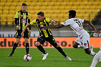 Wellington Phoenix&rsquo; Nathan Burns in action during the A-League - Wellington Phoenix v Western Sydney Wanderers at Westpac Stadium, Wellington, New Zealand on Saturday 3 November  2018. <br /> Photo by Masanori Udagawa. <br /> www.photowellington.photoshelter.com