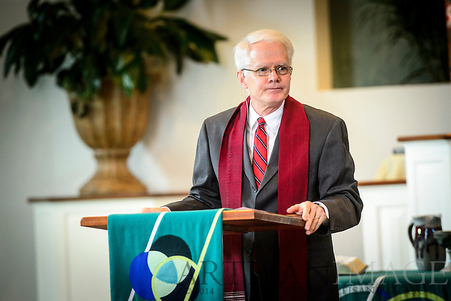 Westminster Presbyterian Church holds a service of installation for Reggie Arnez Weaver on Sunday, September 22, 2013.  (Chris English/Artisan Photo)