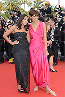 "Leila Bekhti and Ines de la Fressange attending the ""Madagascar III"" Premiere during the 65th annual International Cannes Film Festival in Cannes, France, 18.05.2012..Credit: Timm/face to face/MediaPunch Inc. ***FOR USA ONLY***"