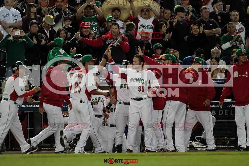 Canada vs Mexico en el Clasico Mundial 2013. <br /> Foto:NortePhoto.com