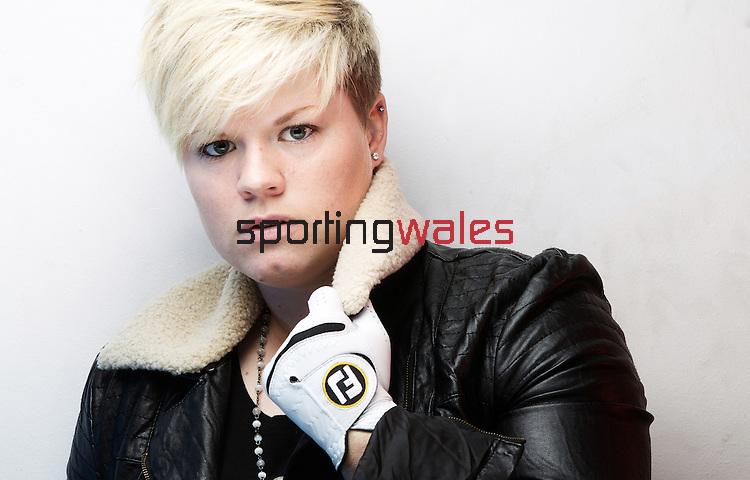 Welsh golfer Lydia Hall.21.01.13.©Steve Pope