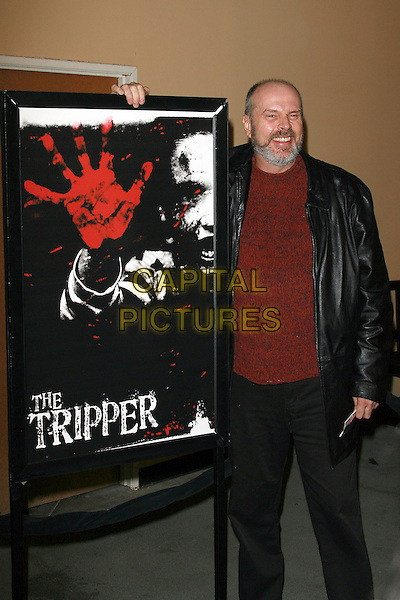 """RICK OVERTON.""""The Tripper"""" Los Angeles Premiere - Arrivals held at Mann's Chinese Theatre, Hollywood, California, LA, USA,.13th October 2006..full length poster.Ref: ADM/ZL.www.capitalpictures.com.sales@capitalpictures.com.©Zach Lipp/AdMedia/Capital Pictures."""