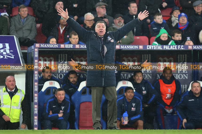 Sam Allardyche manager of Crystal Palace during Crystal Palace vs Middlesbrough, Premier League Football at Selhurst Park on 25th February 2017