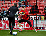 Jake Eastwood of Sheffield Utd warming up during the Championship League match at Bramall Lane Stadium, Sheffield. Picture date 19th August 2017. Picture credit should read: Simon Bellis/Sportimage