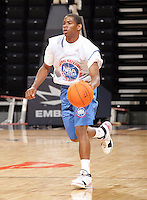 PG Frank Sullivan (Uniontown, AL / R.C. Hatch) moves the ball during the NBA Top 100 Camp held Friday June 22, 2007 at the John Paul Jones arena in Charlottesville, Va. (Photo/Andrew Shurtleff)