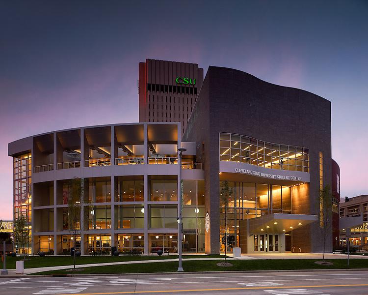 Cleveland State University Student Center | Gwathmey Siegel & Associates Architects and Braun Steidl Architects