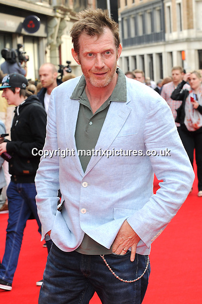 NON EXCLUSIVE PICTURE: PAUL TREADWAY / MATRIXPICTURES.CO.UK<br /> PLEASE CREDIT ALL USES<br /> <br /> WORLD RIGHTS<br /> <br /> English actor Jason Flemyng attending the UK premiere of Hummingbird at London's Odeon West End.<br /> <br /> 17th JUNE 2013<br /> <br /> REF: PTY 134125