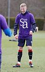 06.04.2018 Rangers training:<br /> Ross McCrorie