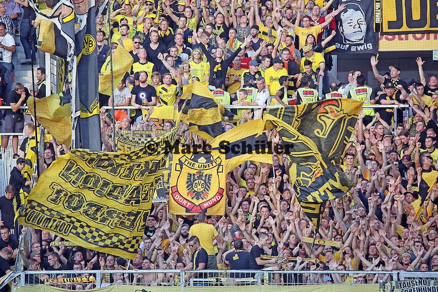 Fans des BVB - 1. FSV Mainz 05 vs. Borussia Dortmund, Coface Arena