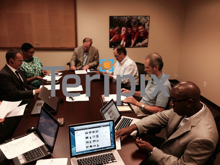 Eventrapix team meets with the Circle Ten Council, Boy Scouts of America's marketing committees on Tuesday evening, September 24, 2013 in Dallas.