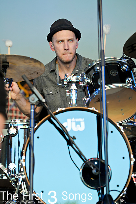 Mike McKee of Delta Rae performs at The Voodoo Experience at City Park in New Orleans, Louisiana.
