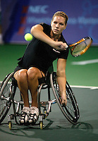 19-11-06,Amsterdam, Tennis, Wheelchair Masters, Ester Vergeer on her way to win the finals