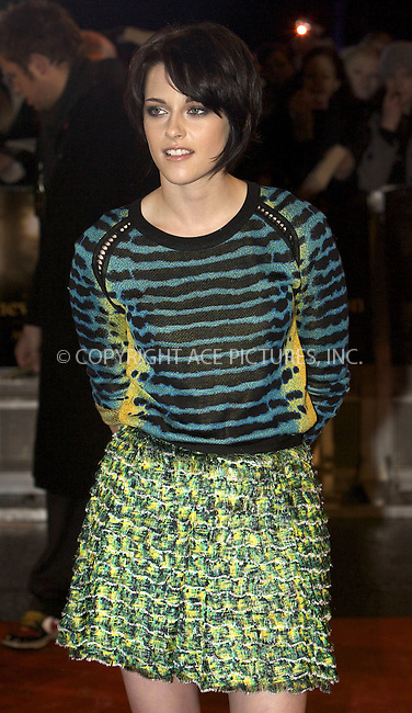 WWW.ACEPIXS.COM . . . . .  ..... . . . . US SALES ONLY . . . . .....November 11 2009, London....Actress Kristen Stewart at The Twilight Saga: New Moon - UK Fan Event at Battersea Evolution on November 11, 2009 in London, England......Please byline: FAMOUS-ACE PICTURES... . . . .  ....Ace Pictures, Inc:  ..tel: (212) 243 8787 or (646) 769 0430..e-mail: info@acepixs.com..web: http://www.acepixs.com