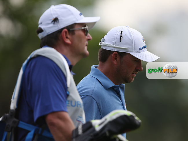 Team Europe's Graeme McDowell (NIR) short of form during the first day FourBall matches at the 2014 Eurasia Cup presented by DRB-Hicom, at the Glenmarie Golf & Country Club, Kuala Lumpur, Malaysia. Picture:  David Lloyd / www.golffile.ie