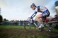 Stars &amp; Stripes Jonathan Page (USA)<br /> <br /> Vlaamse Druivencross Overijse 2013