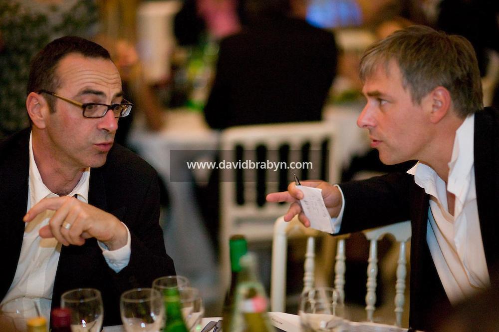 Thomas de Thier, diner, 20 ans de la Fondation Groupama-Gan pour le Cinema, Cannes, France, 18 mai 2007.