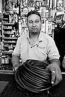 Javier Bernardo Fernandez Lowel. Hardware store owners in Culiacan, Sinaloa,  Mexico